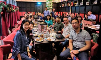 Annual Christmas Dinner in Singapore 2019