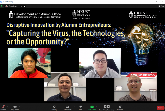 Disruptive Innovation by Alumni Entrepreneurs